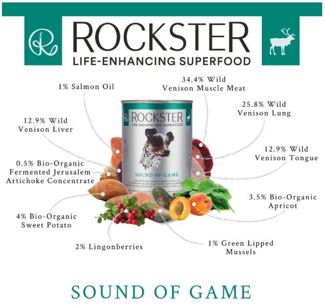 Sound Of Game 400g Ingredients