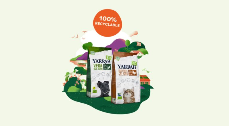 percent recycable packaging yarrah